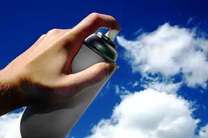 aerosol-can-and-ozone