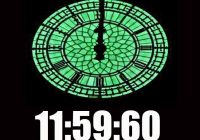 Leap second photo