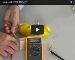 Lemon-battery