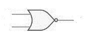 Two input NOR gate symbol photo