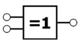 IEEE XOR symbol photo
