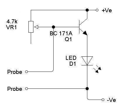 Moisture checker circuit photo