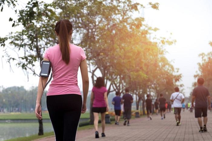 Walking for better cardiac health